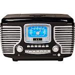 Crosley - Corsair Radio CD Player - Black