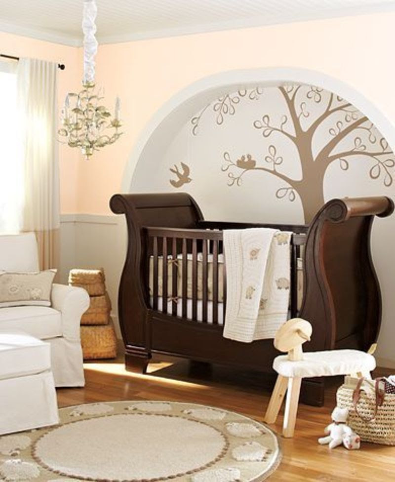 Contemporary Baby Nursery Decorating Ideas Design Bookmark