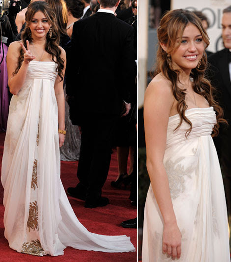 miley cyrus style 2009. Miley Cyrus And Her Marchesa