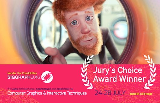 Cosmos Laundromat wins SIGGRAPH 2016 Computer Animation Festival Jury's Choice Award - blender.org