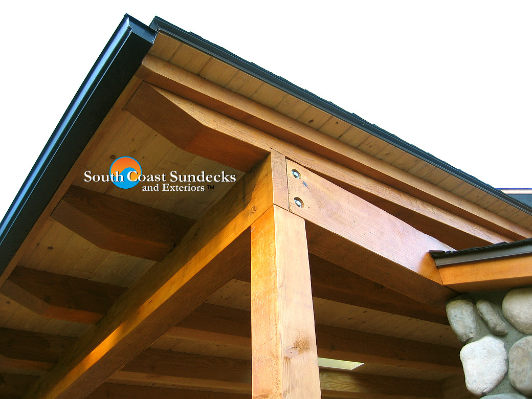 featured 4 covered outdoor living space timber framed roof