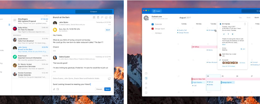 Microsoft is working on a big redesign for the Outlook for Mac and Windows apps
