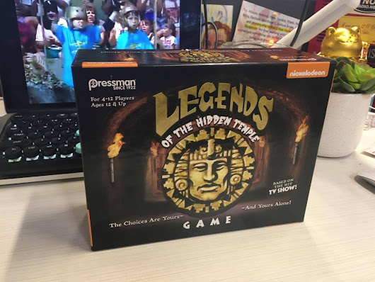 FIRST LOOK: Legends of the Hidden Temple Board Game