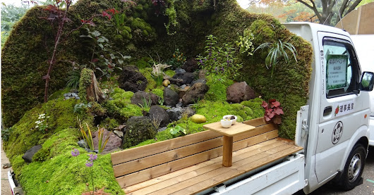 Mini Trucks in Japan Are Being Transformed Into Enchanting Tiny Gardens