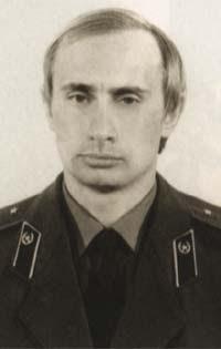 Putin con el uniforme del KGB