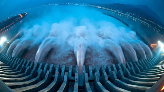The Chinese are obsessed with building giant dams