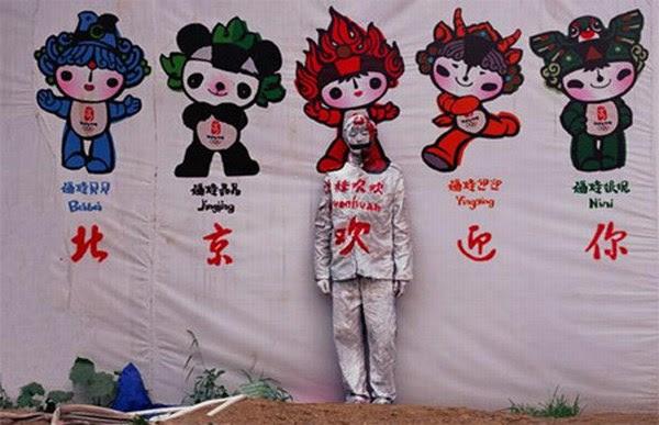 Special body art of Liu Bolin