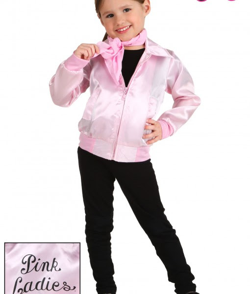 Toddler Grease Pink Ladies Jacket Halloween Costume Ideas 2018