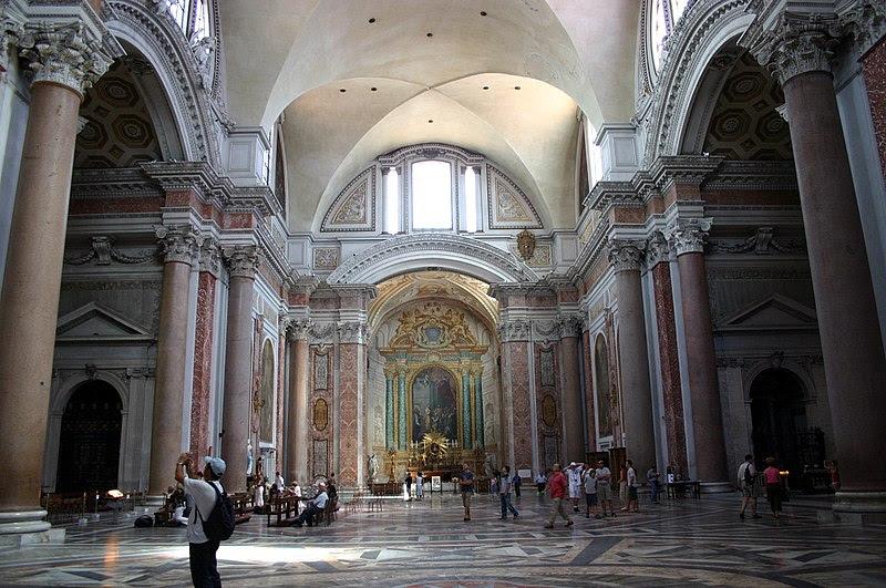 Fil: 3222 - Roma - Santa Maria degli Angeli - Interno - Foto Giovanni Dall'Orto 17-juni-2007.jpg