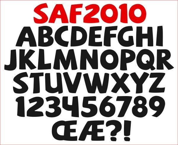SAF Free Font