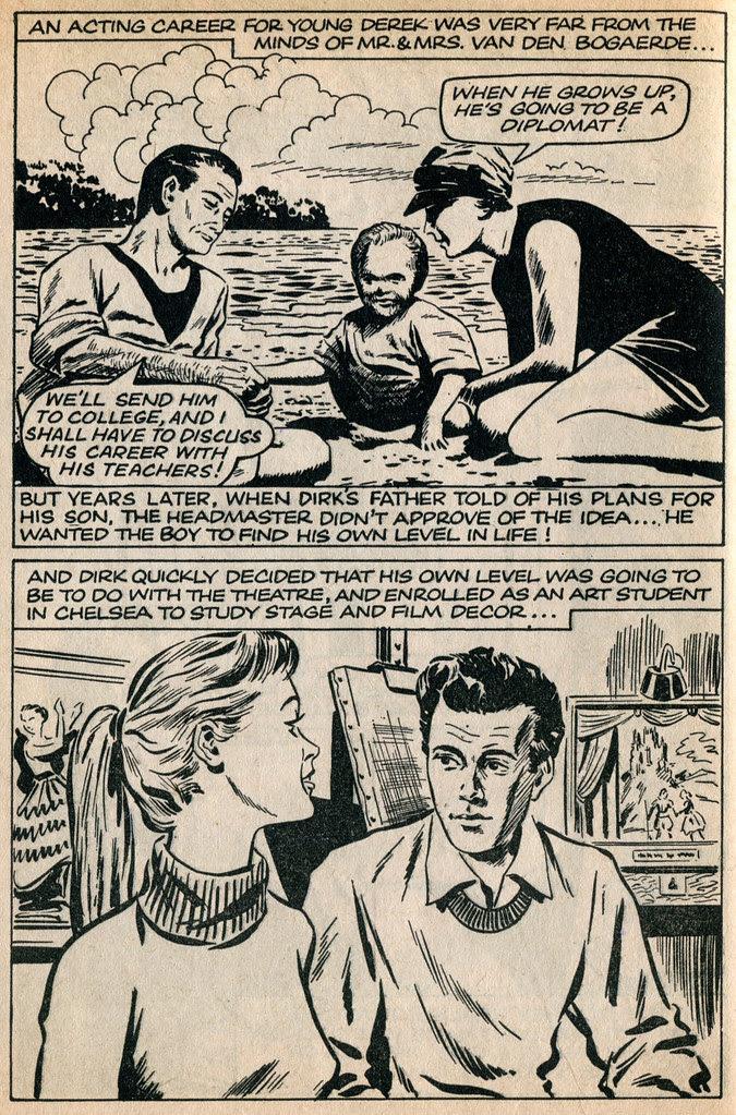 Dirk Bogarde comic 1