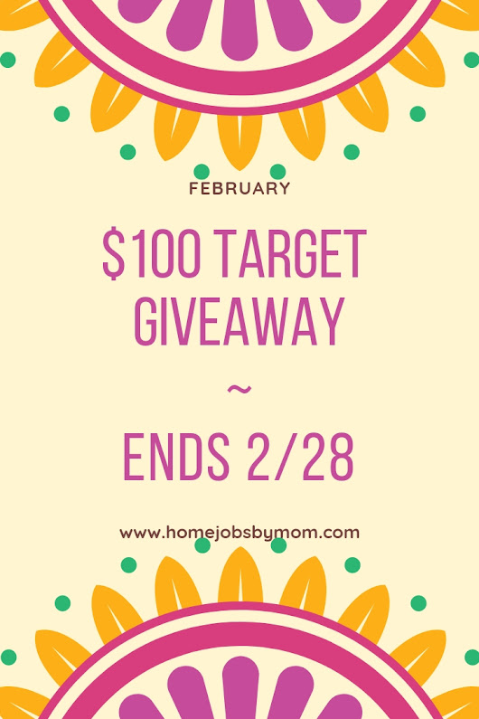 $100 Target Giveaway Ends 2/28 - My Crafty Zoo