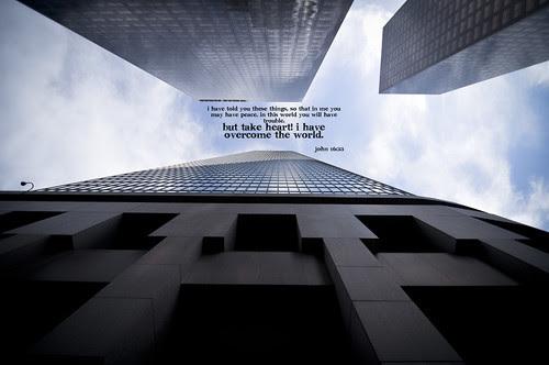 John 16 33 buildings phone copy by Peej