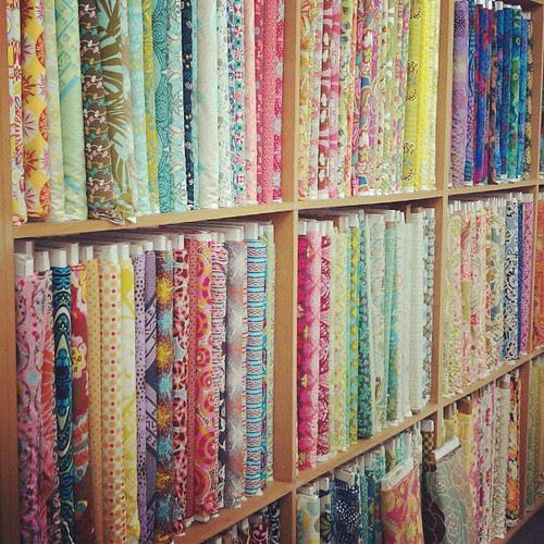 Mmm.  Fabric.