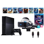 Sony PlayStation VR Launch Bundle 9 Items:VR Launch Bundle,PS4 Call of Duty,7VR Game Disc Until Dawn,Rush of Blood,EVE:Valkyrie, Battlezone,Batman:Arkham
