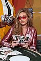 gigi hadid is decked out in pink for vogue eyewear launch 02