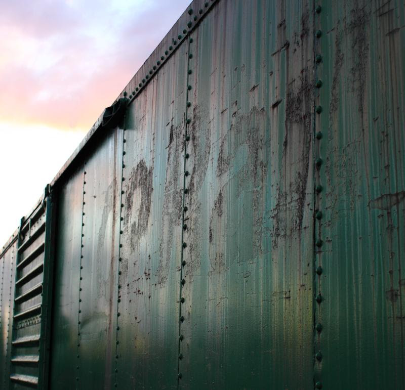 Faded CP Rail
