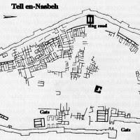 Πρώιμος ισραηλιτικός οικισμός της Εποχής Σιδήρου Ι, Nasbeh