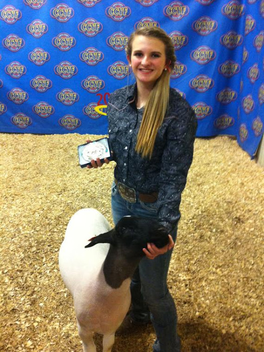 Cove High School FFA members compete at Coryell County Youth Fair