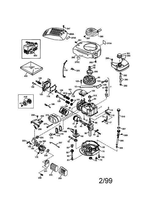 CRAFTSMAN ENGINE Parts   Model 143996516   Sears PartsDirect