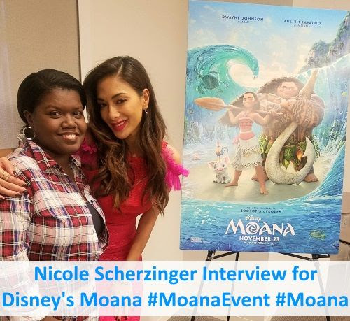 Nicole Scherzinger Interview for Disney Moana