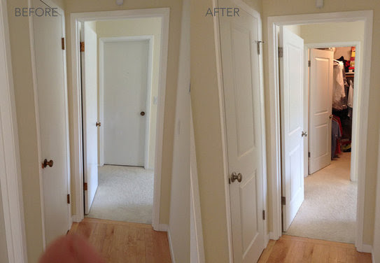 New interior doors can completely transform a home. - Houzz