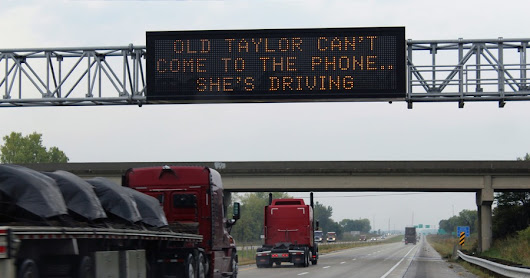 How a Taylor Swift song is helping to stop people from using phones when driving