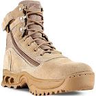 Ridge Footwear 3003Z Desert Storm Quarterboot Zipper Tactical Boots Men's