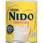Nestle Nido Fortificada Dry Milk Powder - 56.3 oz can
