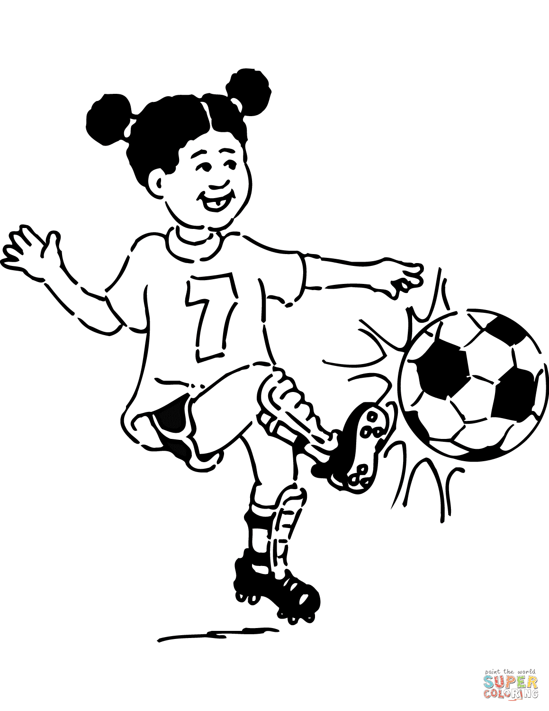 Disegni Di Calcio Da Colorare Pagine Da Colorare Stampabili