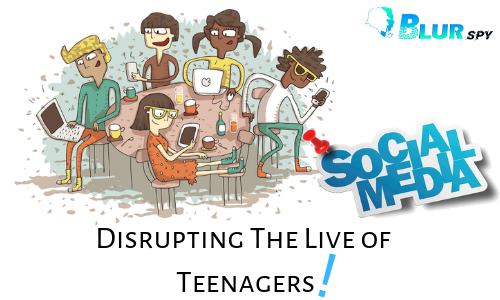 How Social Media is Disrupting the Live of Teenagers?