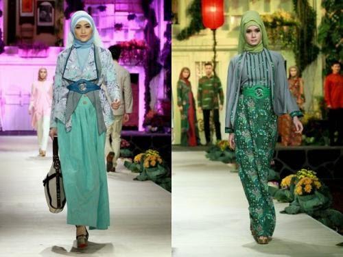 Desain Baju Batik Wanita Muslimah - Inspirasi Desain Menarik