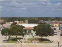 vista da cidade na torre da igreja, Por Naninha Ferreira