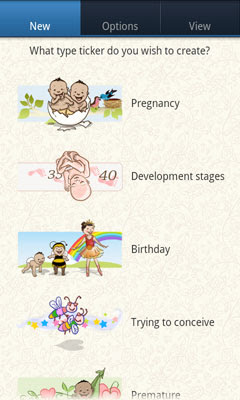 Lilypie Android App create