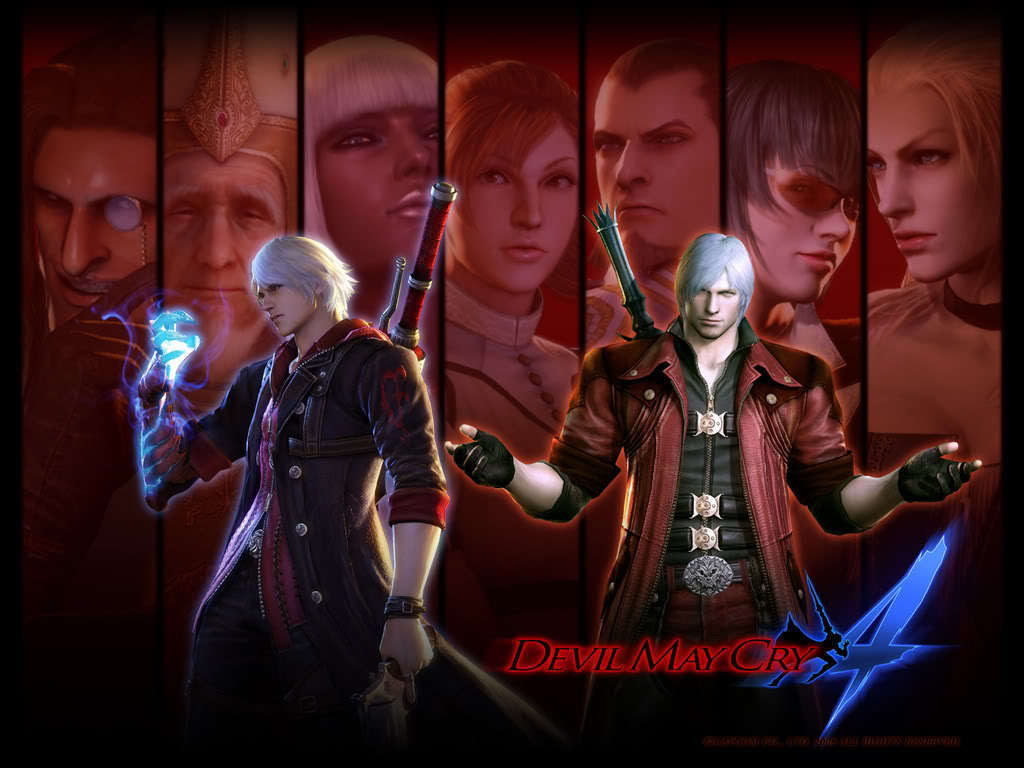 Devil May Cry 4 Devil May Cry 4 Wallpaper 10480381 Fanpop