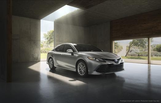 Toyota of Greenville | Toyota Reveals Redesigned 2018 Toyota Camry