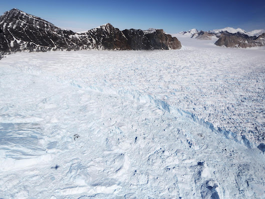 Antarctica's annual ice loss six times greater than in the 80s, Nasa research shows