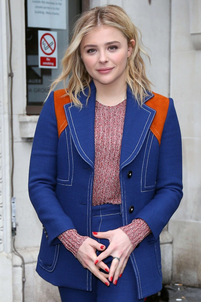 Chloe Moretz at the Bauer Media Radio Studios -04