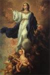 La Asunción de la Santísima Virgen a los Cielos.