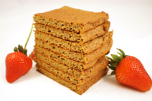 Lemon Strawberry Flaxseed Meal Bread (Grain-Free & Dairy-Free!)