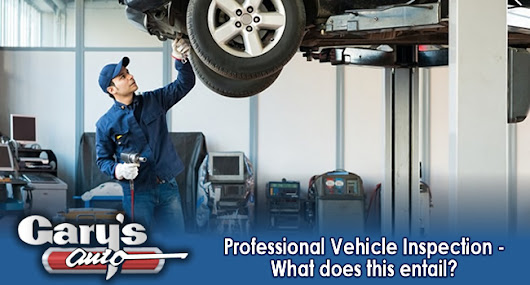 Professional Vehicle Inspection - What does this entail?