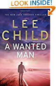 A Wanted Man by Lee Child book cover