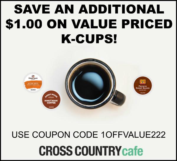 Value Price Keurig Kcup coffee coupon
