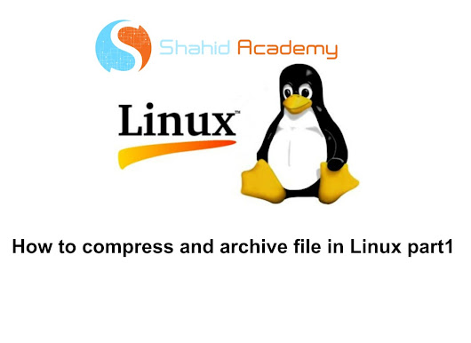 Linux File compression and archiving using  bzip2, gzip and zip part1