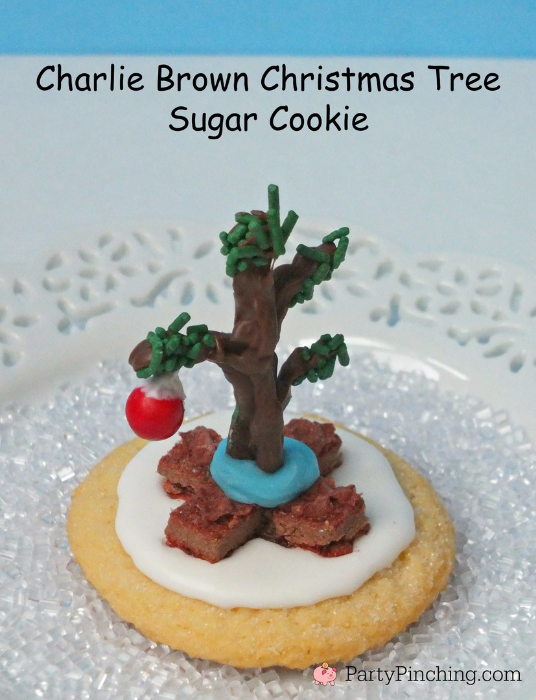 A Charlie Brown Christmas Tree Cookie Best Christmas Cookie Recipes
