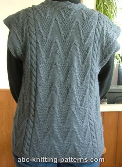 Women patterns without knitted hair vest women free for west green