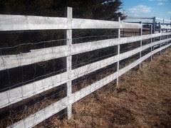 reclaimed field fence
