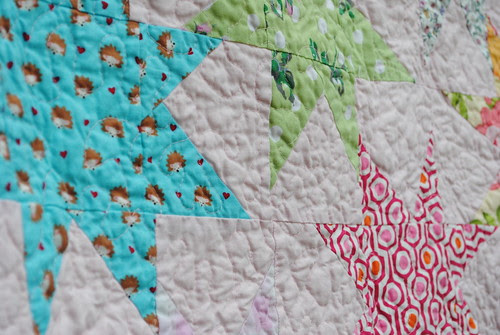 The Niece quilt front detail