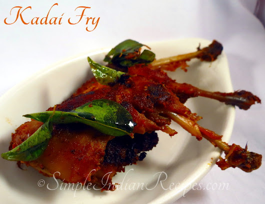 Kaadai 65 - Quail Fry | Simple Indian Recipes