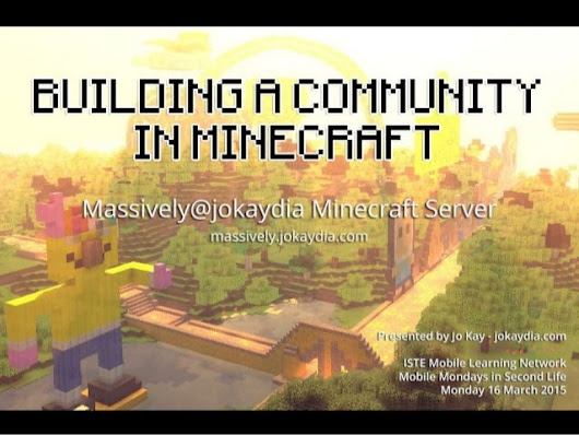 Building Community in Minecraft -